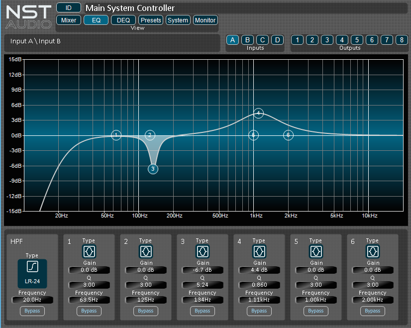 BB-DSP EQ page