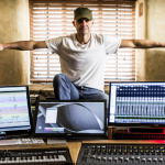 Andy Gray installs Unity Audio Boulder MkII monitors