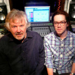 Ken and Jolyon Thomas install Unity Audio Rock monitors