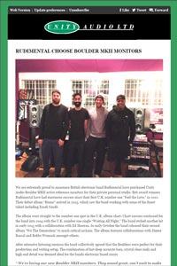 Rudimental chooses Boulder MkIIs