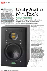 SOS Mini Rock Review