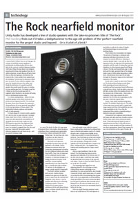 Pro Sound News Europe review of the Rock