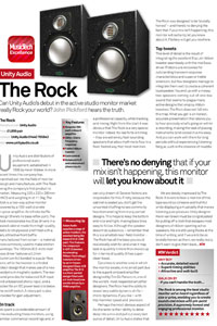 Music Tech Magazine Rock review