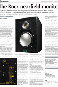 Pro Sound News Rock review